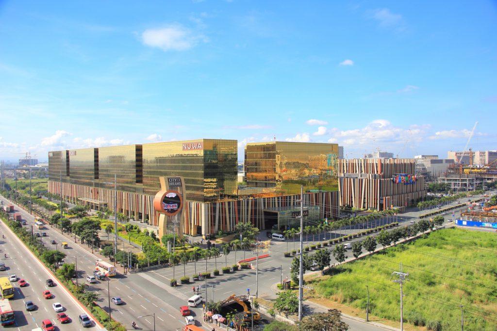 フィリピンのショッピングセンター