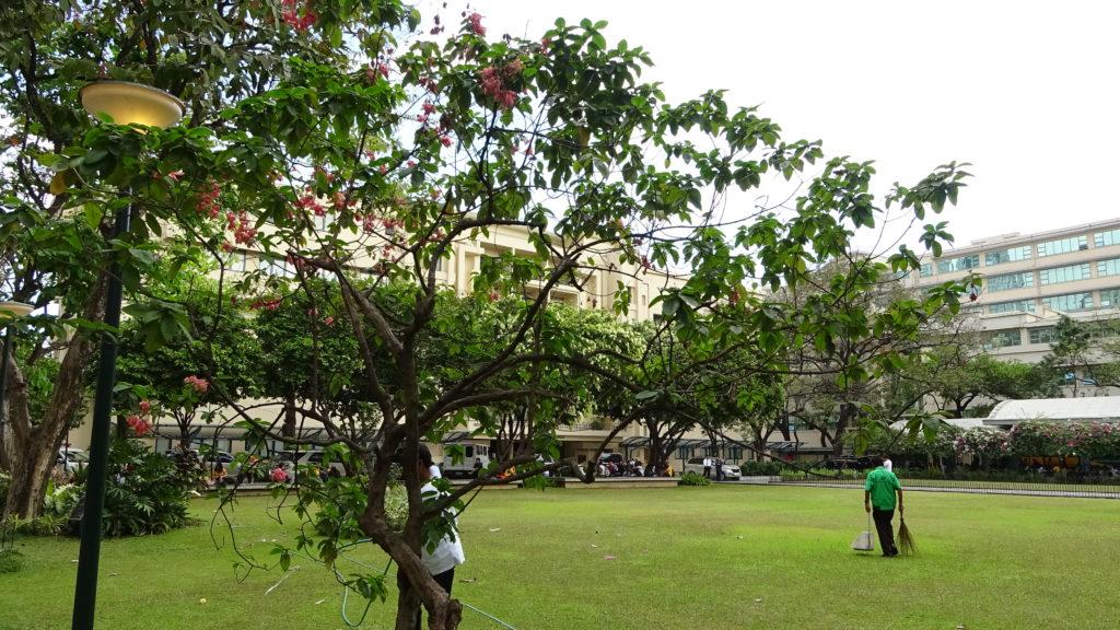 ファー・イースタン大学(Far Eastern University)のキャンパス