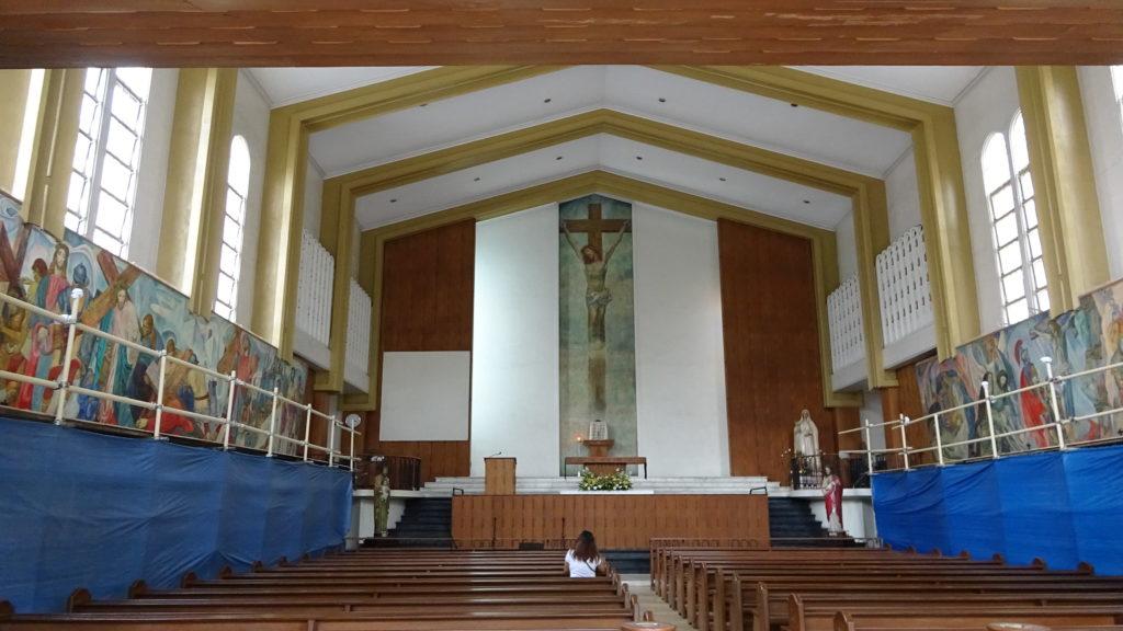 ファー・イースタン大学(Far Eastern University)の教会