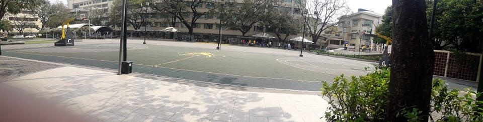 ファー・イースタン大学(Far Eastern University)のグラウンド