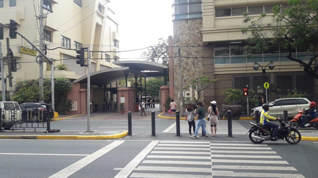 ファー・イースタン大学(Far Eastern University)のメインゲート