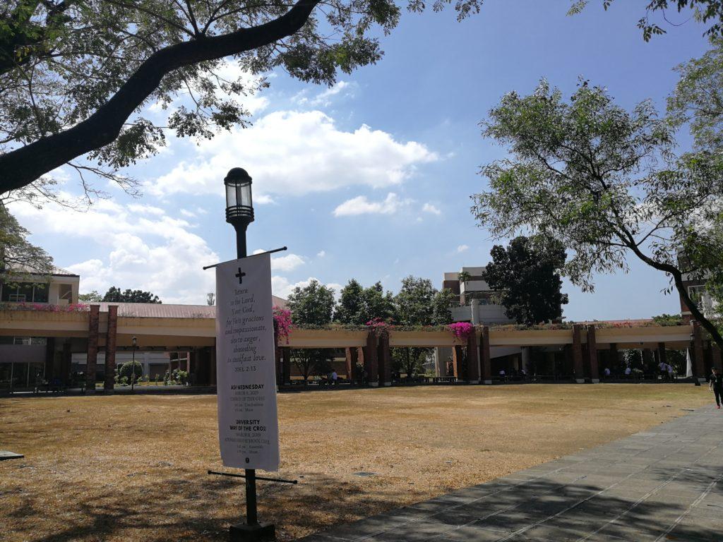 アテネオ大学(Ateneo de Manila University)のキャンパス