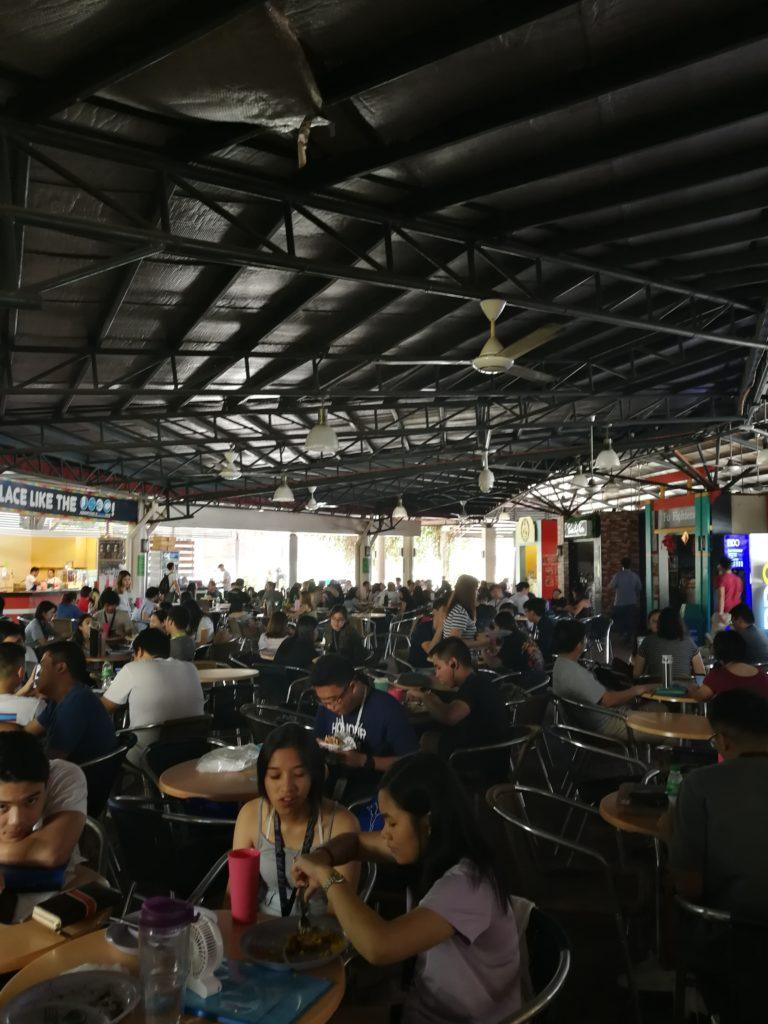 アテネオ大学(Ateneo de Manila University)の食堂