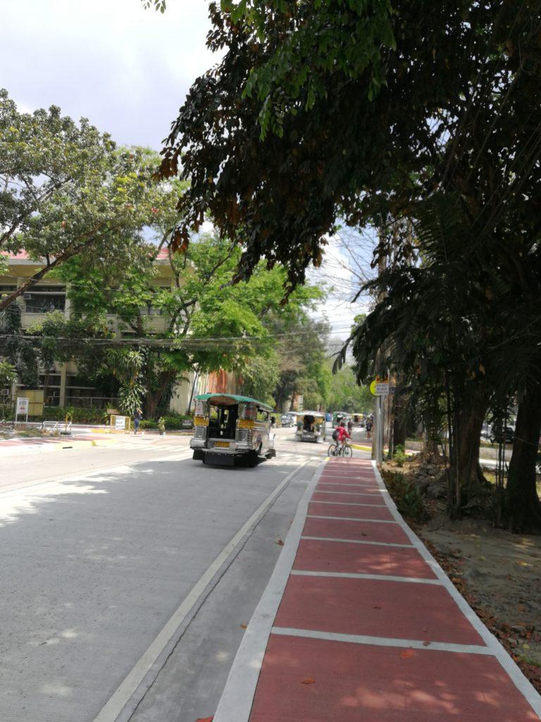 フィリピン国立大学ディリマン校(University of the Philippines Diliman)のキャンパス