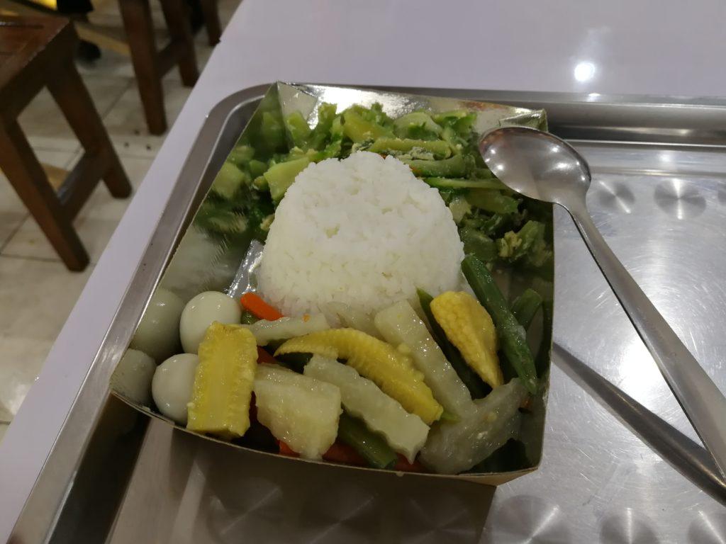 フィリピン国立大学ディリマン校(University of the Philippines Diliman)の食事