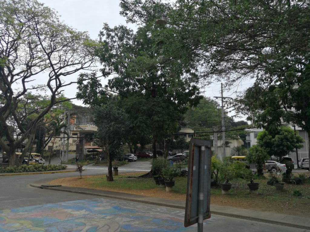 フィリピン国立大学ディリマン校(University of the Philippines Diliman)の校舎