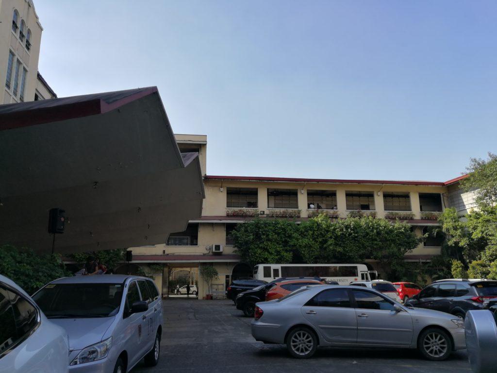 サン・セバスティアン大学(San Sebastian College)の教会