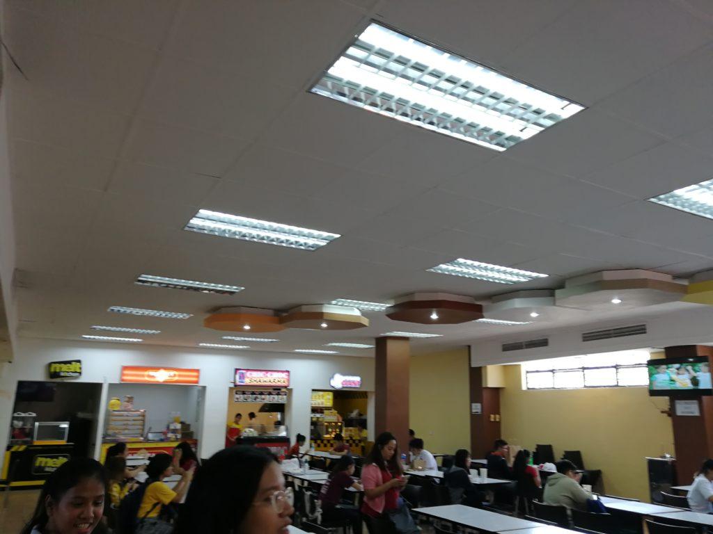 リセウム・オブ・ザ・フィリピン大学(Lyceum of the Philippines University)の食堂