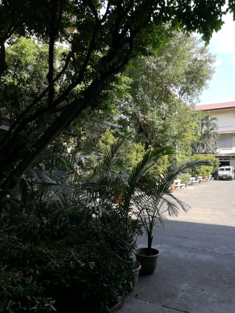 リセウム・オブ・ザ・フィリピン大学(Lyceum of the Philippines University)のグラウンド