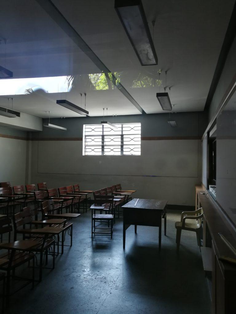 アダムソン大学(Adamson University)の教室
