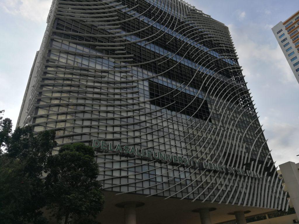 デ・ラサール大学(De La Salle University)の新校舎