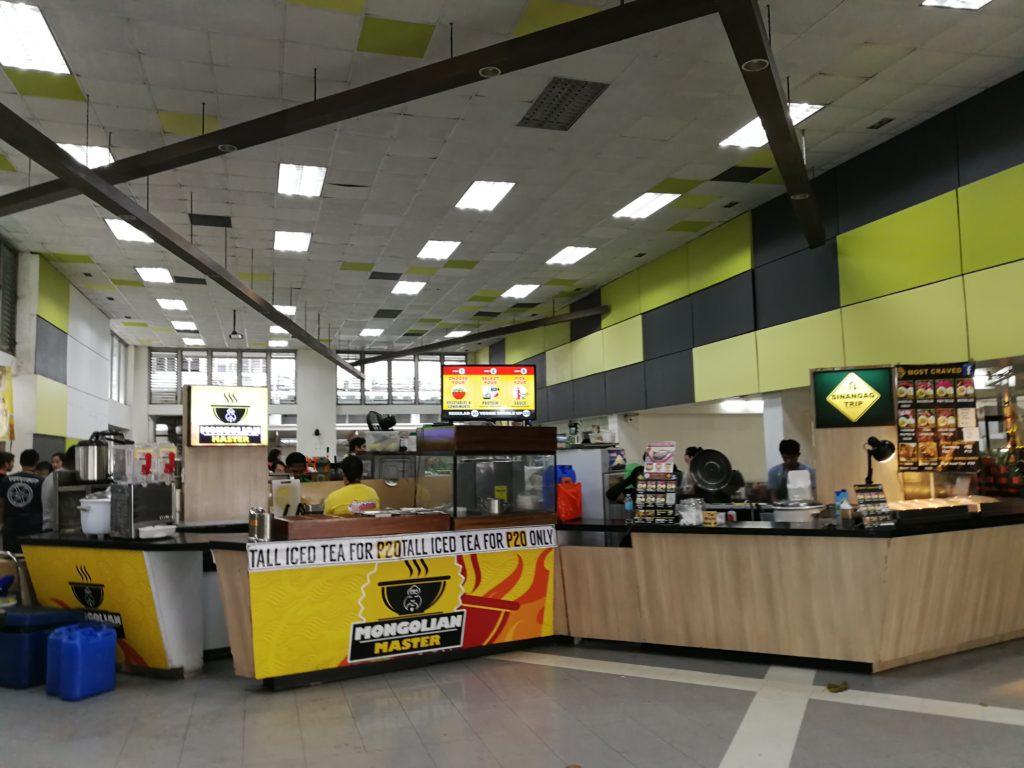 デ・ラサール大学(De La Salle University)の食堂
