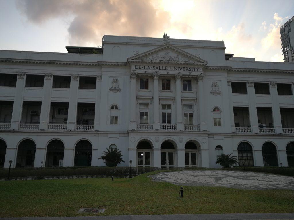 デ・ラサール大学(De La Salle University)の旧校舎