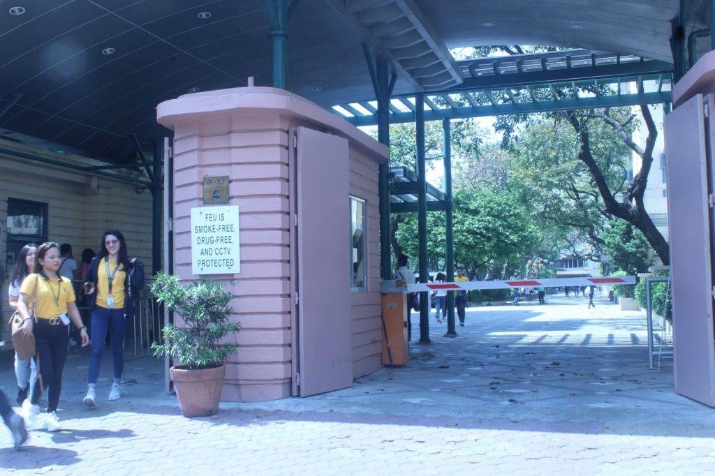 ファー・イースタン大学(Far Eastern University)の入口