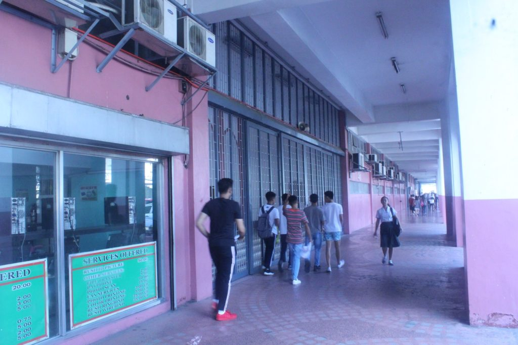 セントロエスカラー大学(Centro Escolar University )の校舎