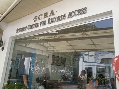 ラコンソラチオンカレッジ(La Consolacion College)の学生オフィス