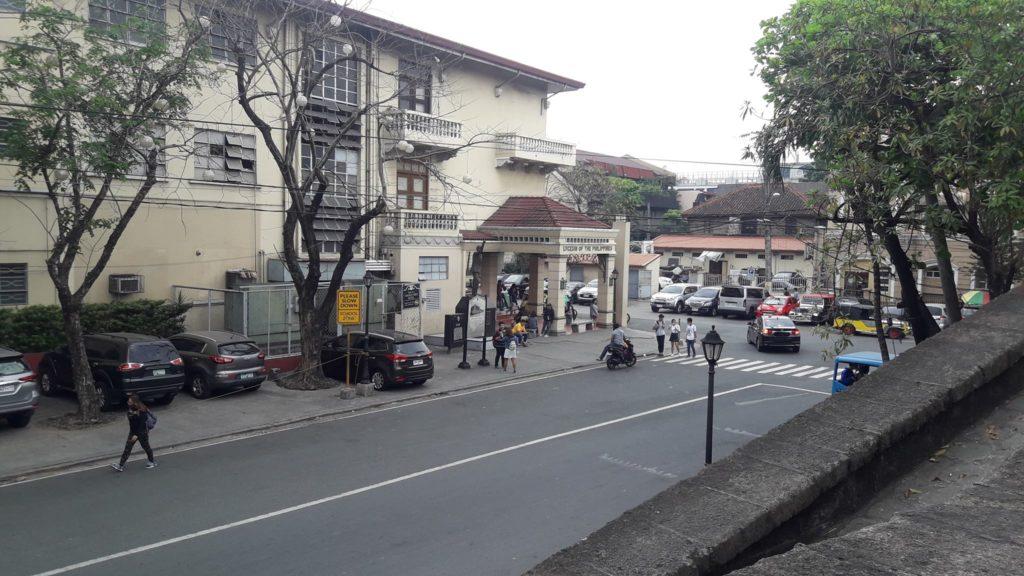 リセウム・オブ・ザ・フィリピン大学(Lyceum of the Philippines University)の校舎
