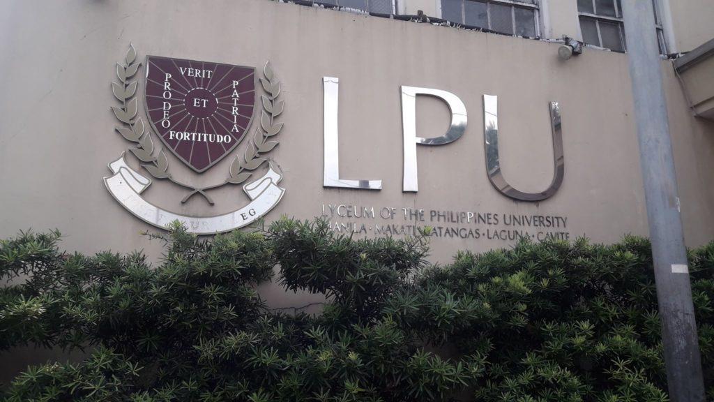 リセウム・オブ・ザ・フィリピン大学(Lyceum of the Philippines University)のロゴ