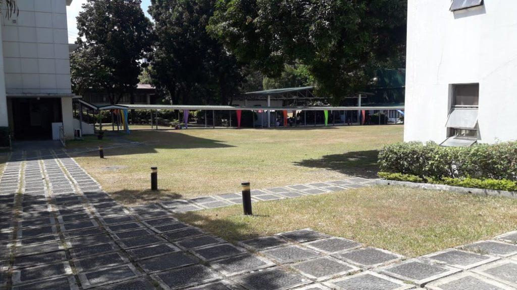 ミリアム大学(Miriam College)のグラウンド