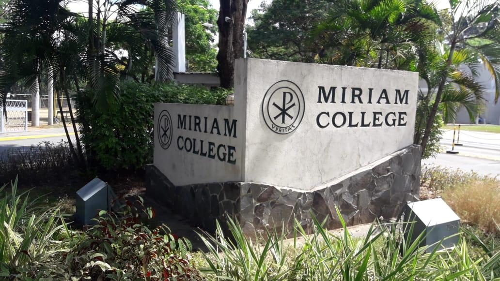 ミリアム大学(Miriam College)の入口