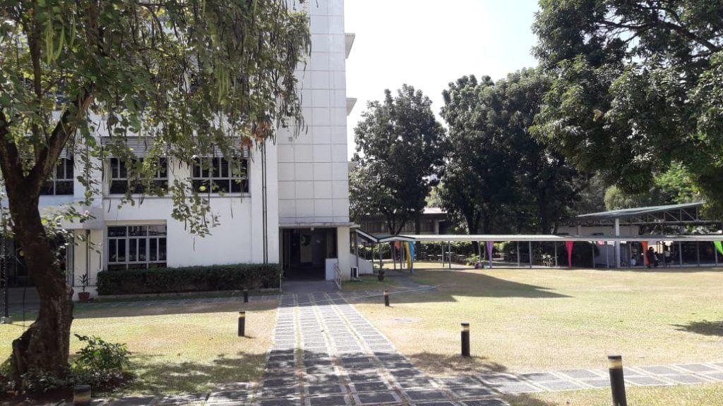ミリアム大学(Miriam College)の校舎