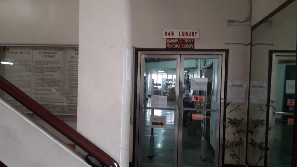 フィリピン女子大学(Philippine Women's University)の図書館