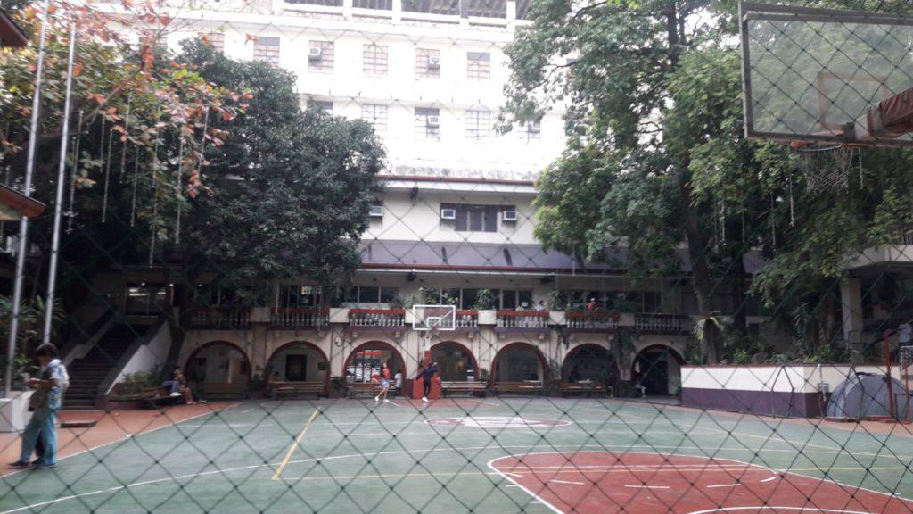 フィリピン女子大学(Philippine Women's University)のバスケットコート