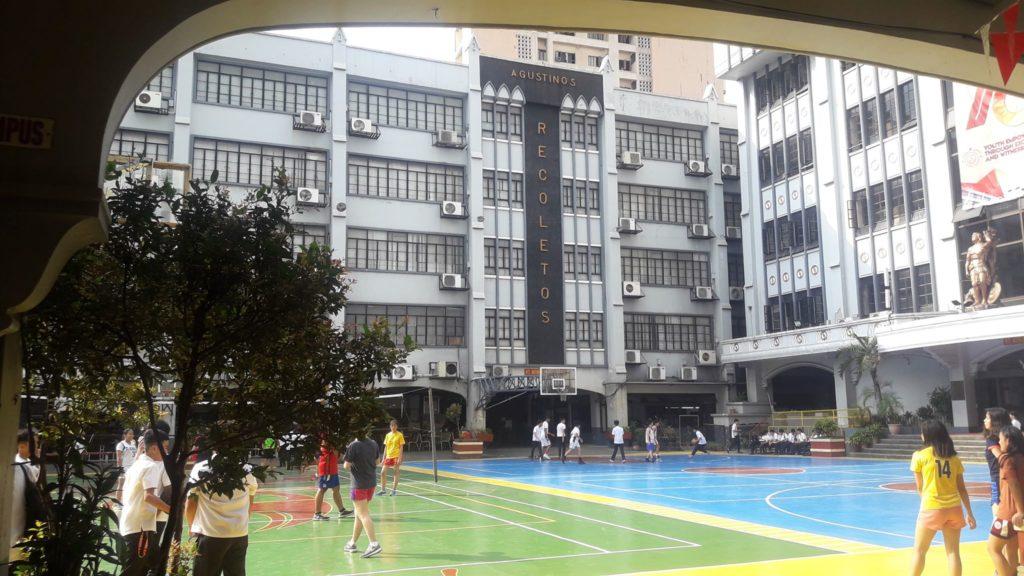 サン・セバスティアン大学(San Sebastian College)の校舎