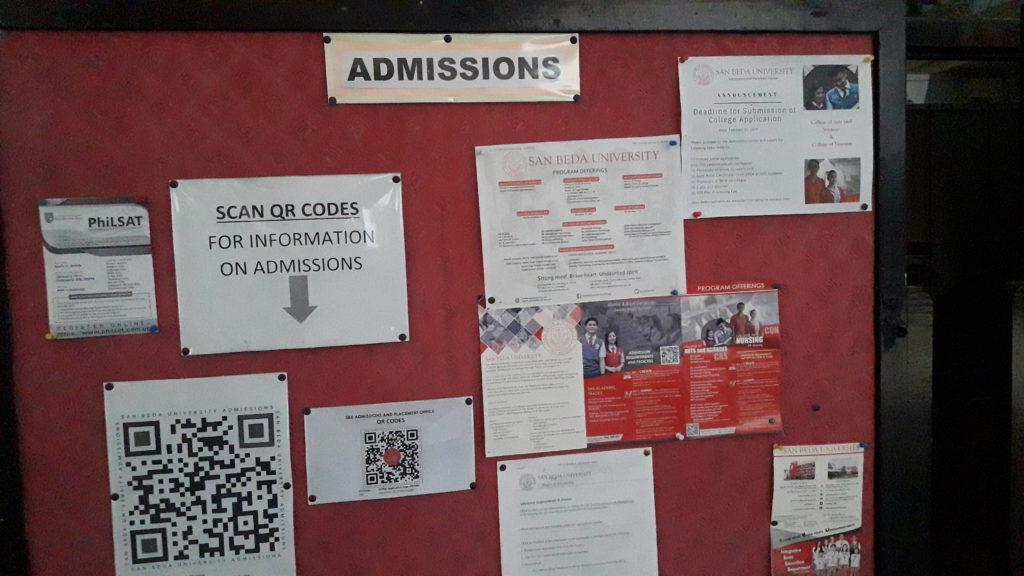 サンベダ大学(San Beda College )の掲示板