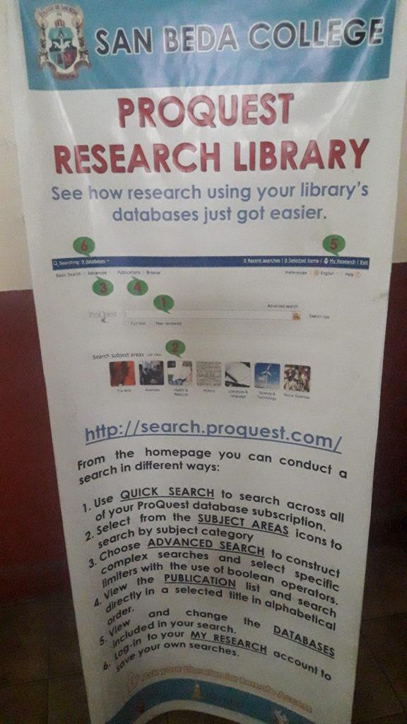 サンベダ大学(San Beda College )の図書館情報