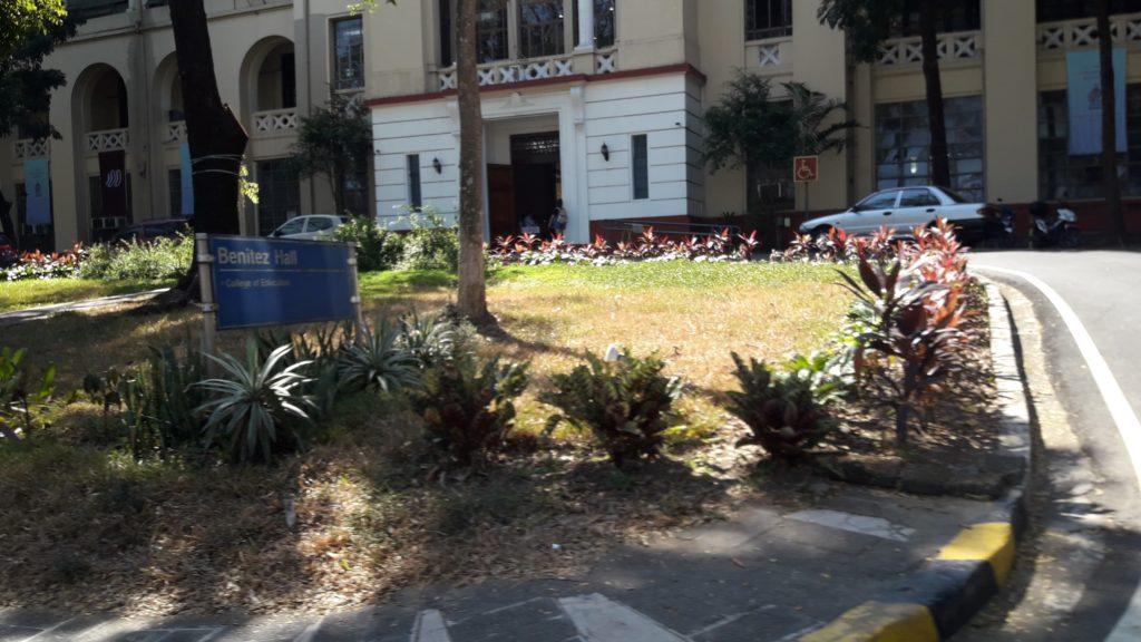 フィリピン国立大学ディリマン校(University of the Philippines Diliman)のホール
