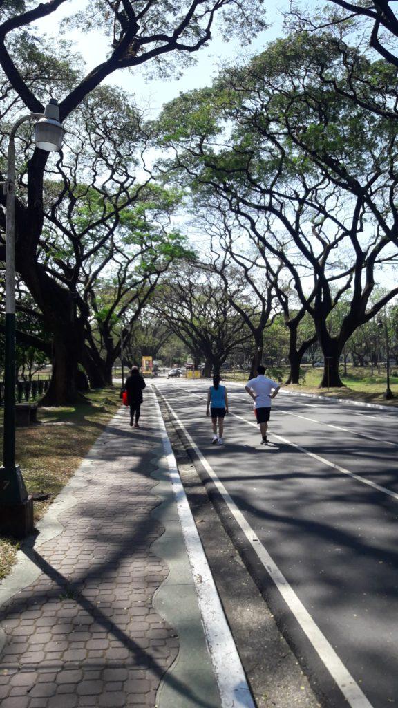 フィリピン国立大学ディリマン校(University of the Philippines Diliman)のグラウンド
