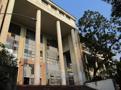 フィリピン国立大学ディリマン校(University of the Philippines Diliman)の図書館