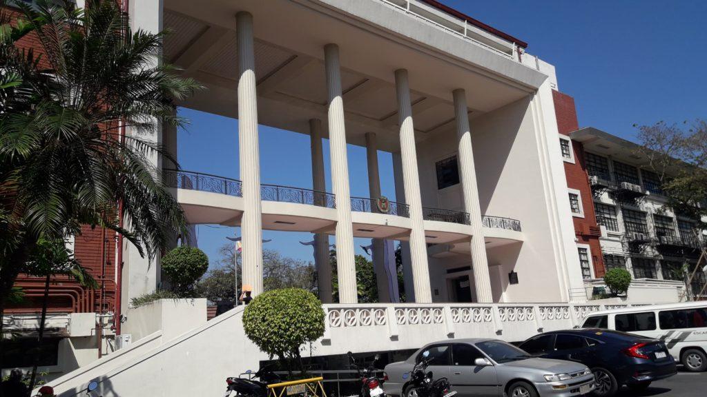 フィリピン国立大学ディリマン校(University of the Philippines Diliman)のメインゲート