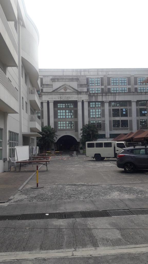 サントトマス大学(University of Sto. Tomas)の校舎