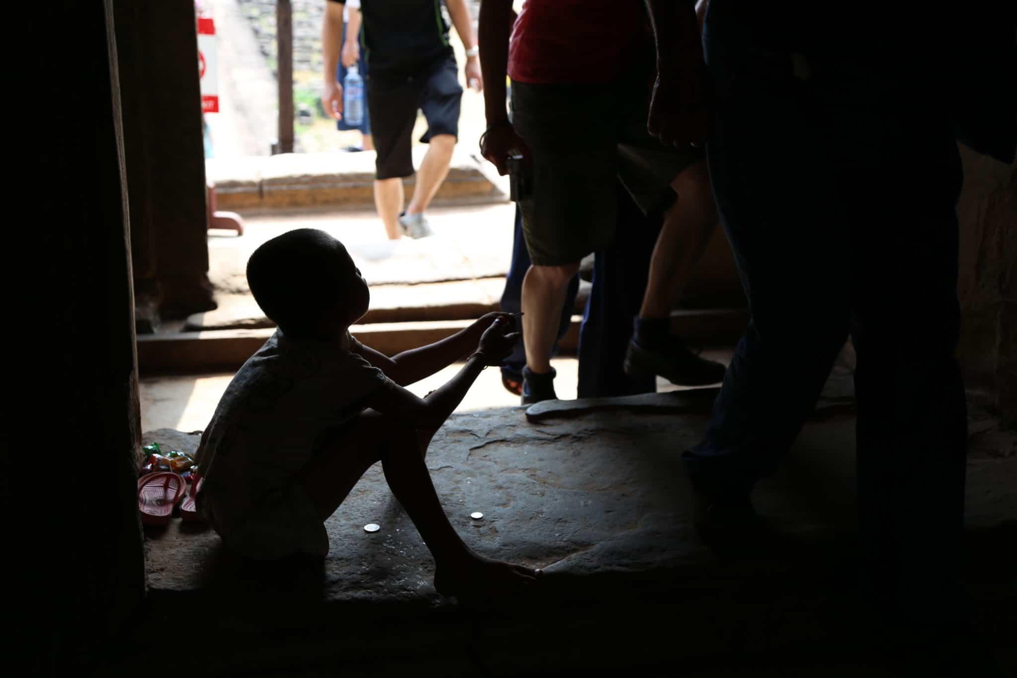 フィリピンの孤児