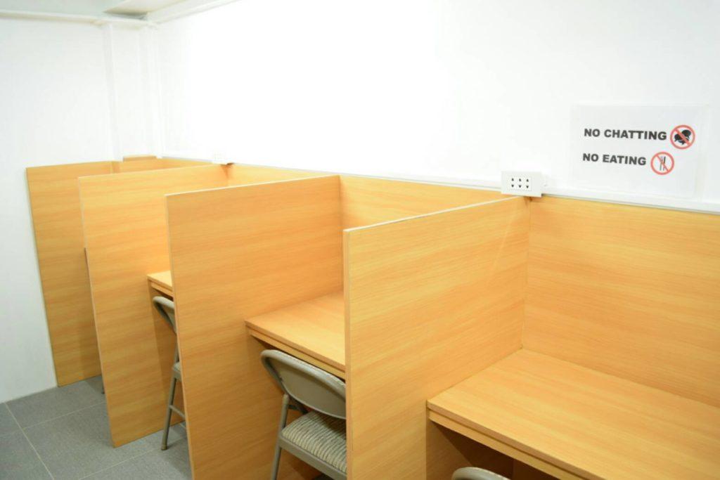 ゼン イングリッシュ(ZEN English)の自習室