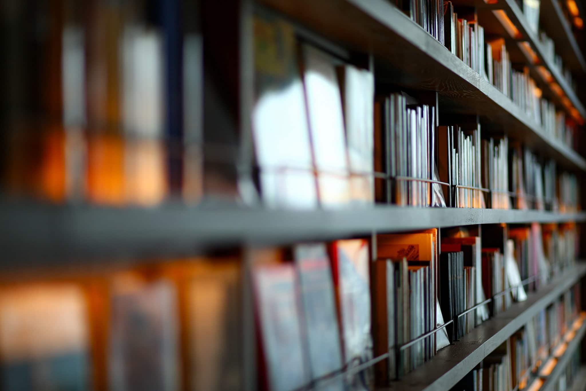 フィリピンの大学院の図書館
