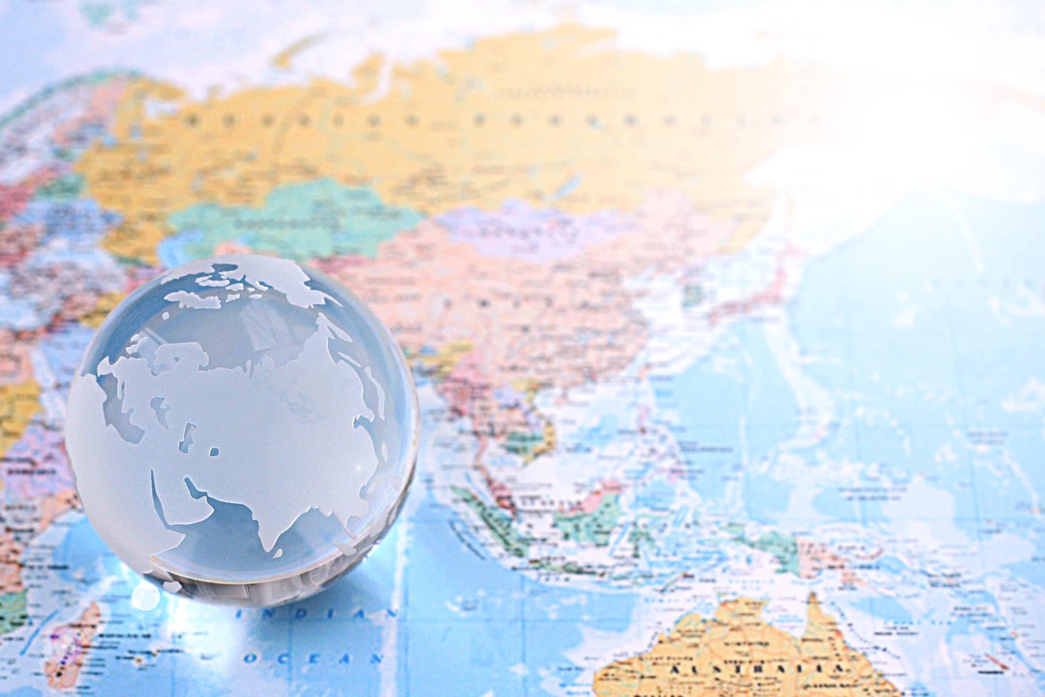 フィリピンの大学:世界の地図