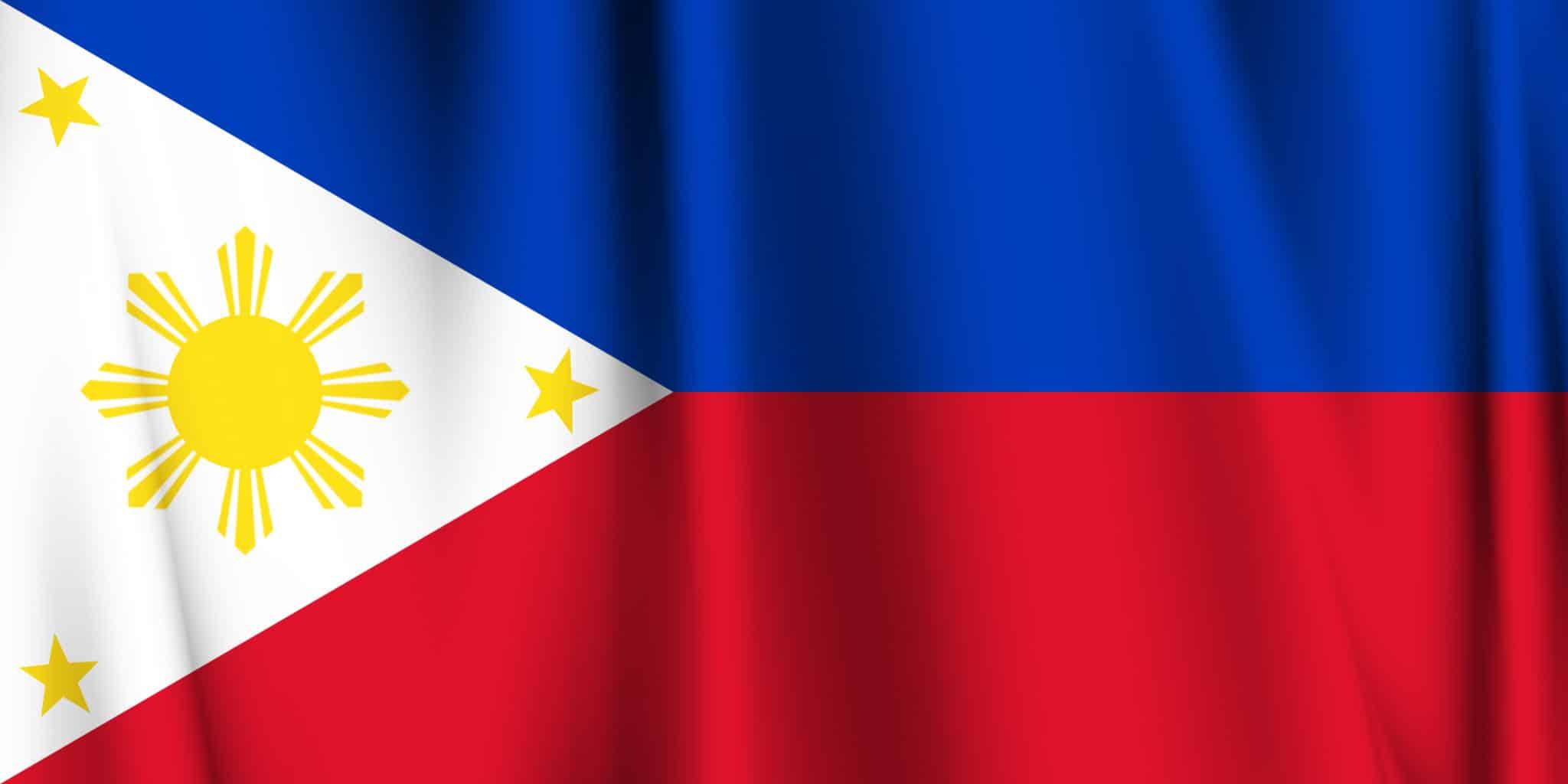 フィリピンの大学:フィリピンの国旗
