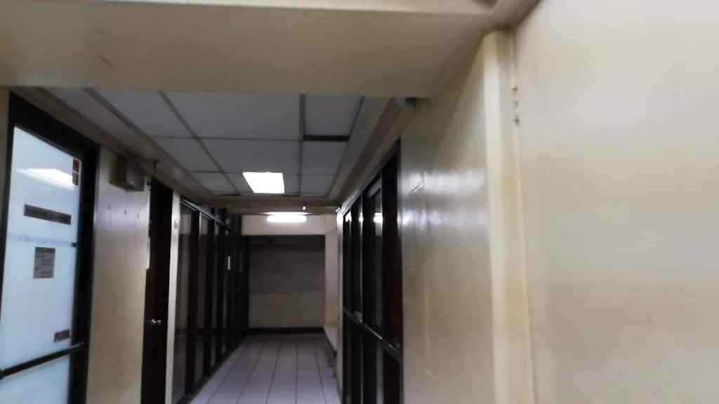 セブ大学(University of Cebu)の廊下