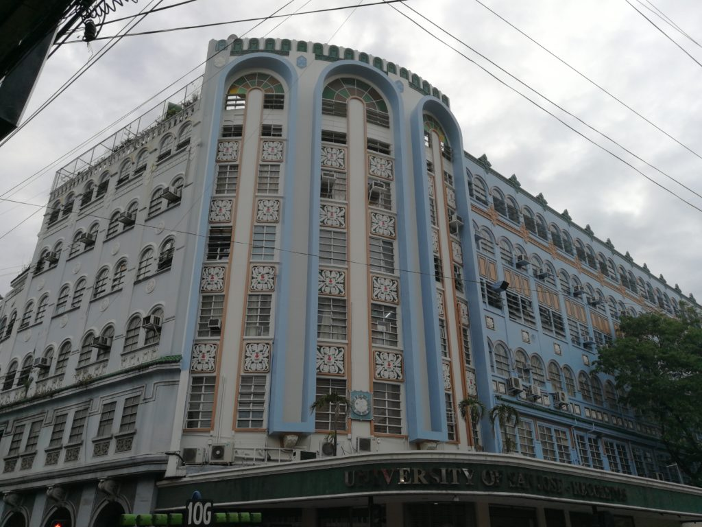 サンホセ大学(University of San Jose-Recoletos)の校舎