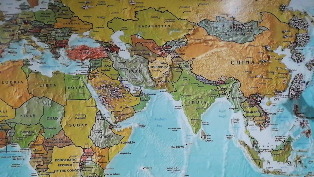 ジーニアス イングリッシュ(Genius English)の地図