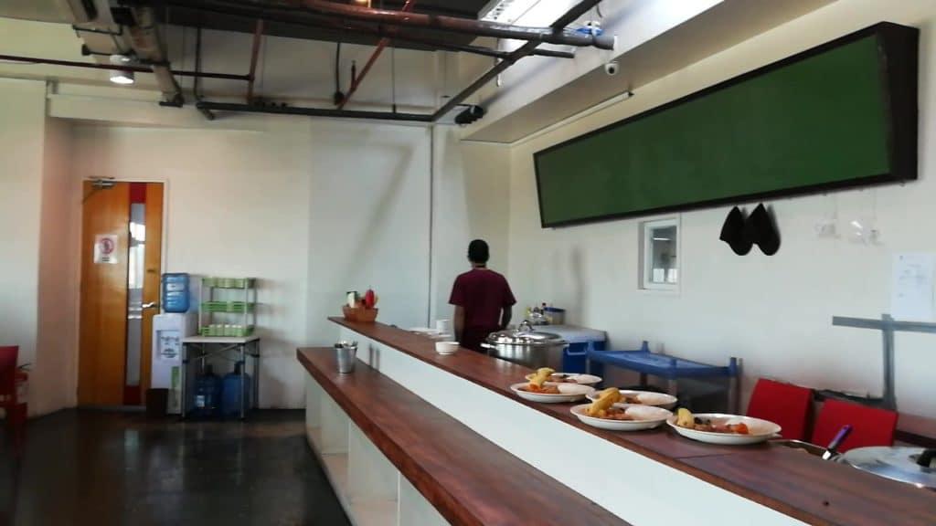 アイデア アカデミア(IDEA ACADEMIA)の食堂