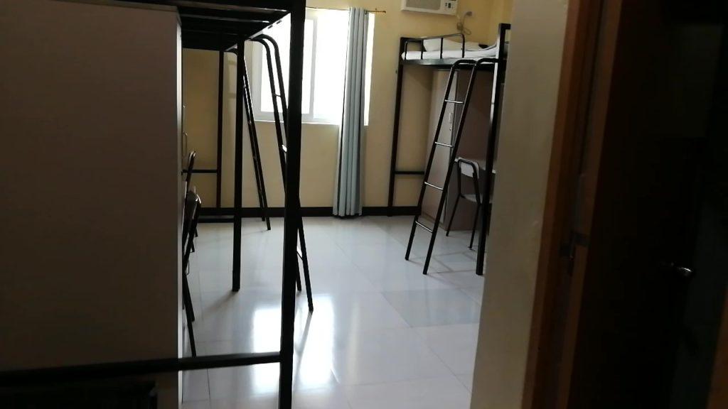 アイデア セブ(IDEA CEBU)の寮の廊下
