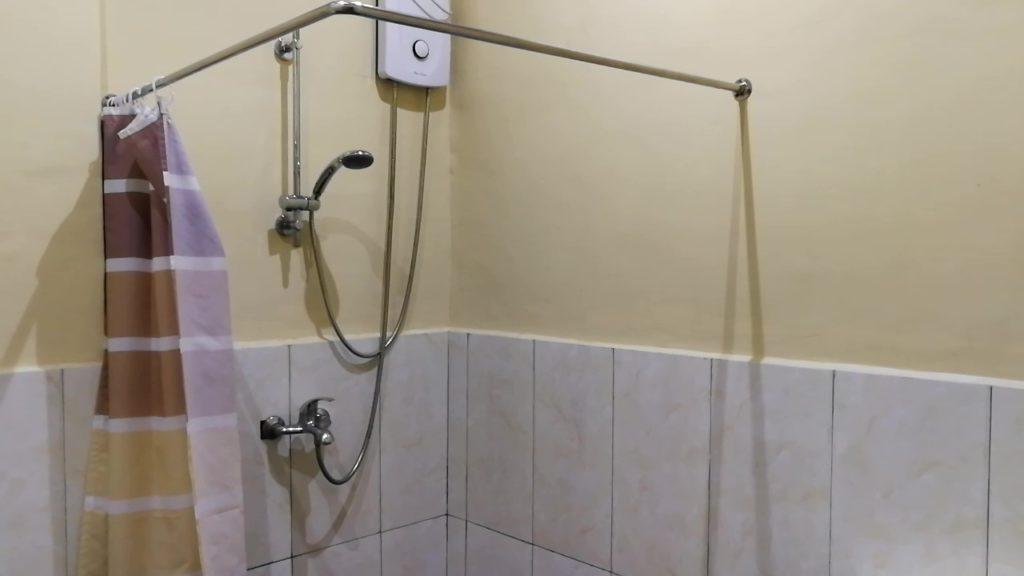 アイデア セブ(IDEA CEBU)の寮のシャワー