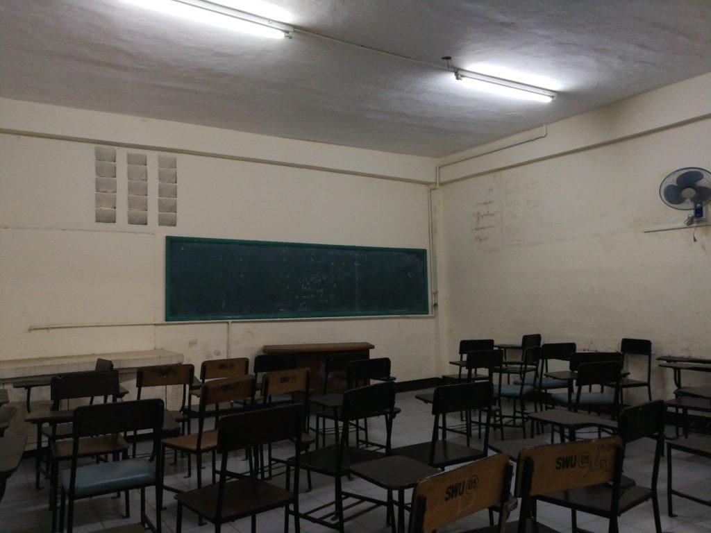 サウスウェスタン大学(Southwestern University)の教室