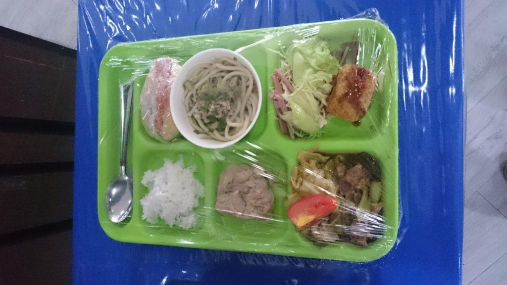 QQ English IT Park(キューキューイングリッシュ アイティーパーク校)の食事