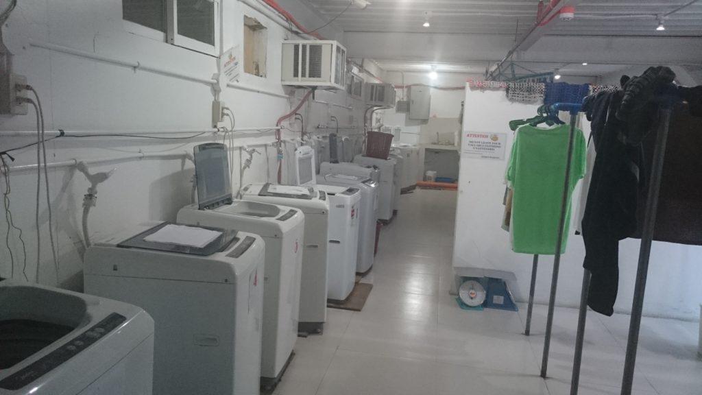 QQ English Sea Front Campus(キューキューイングリッシュ シーフロント校)の洗濯機