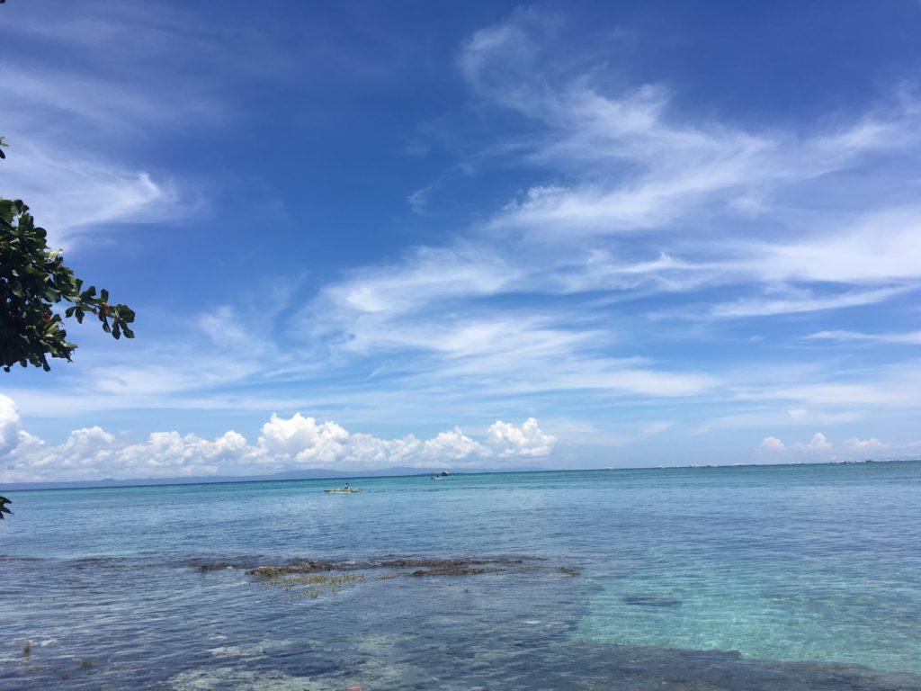 セブ島留学で体験できるビーチ